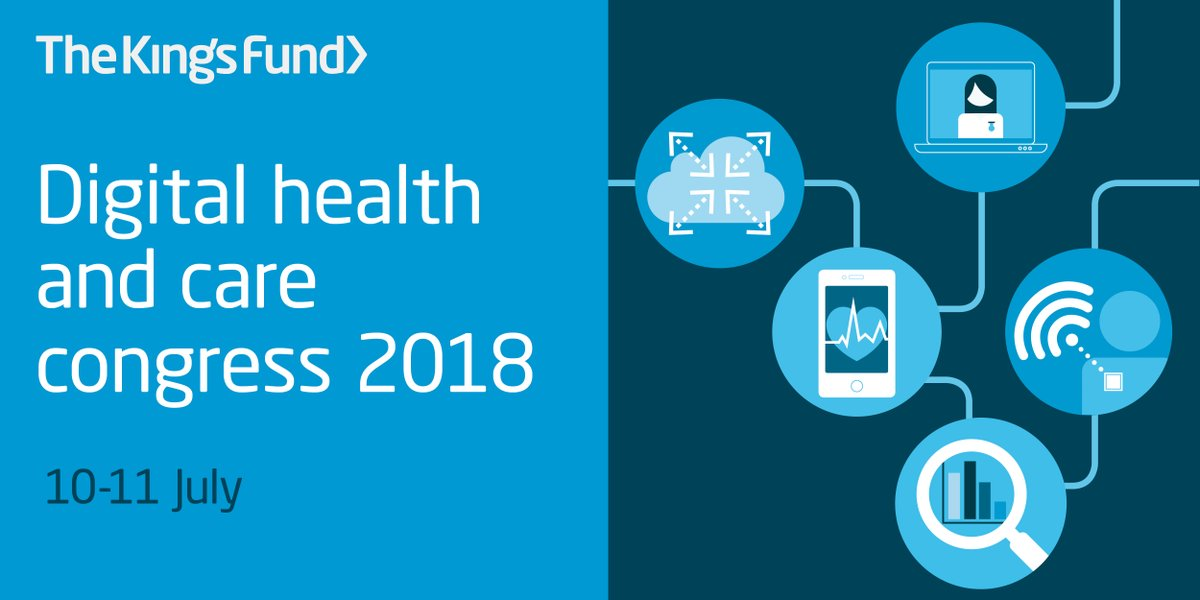 The King's Fund digital health and care congress 2018