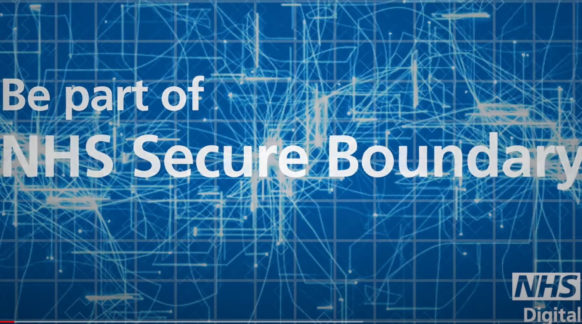 Graphic showing name of secure boundary