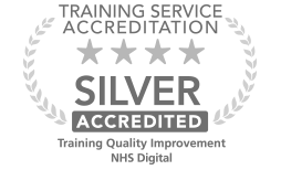 Training and quality Improvement 4 star badge assurance mark