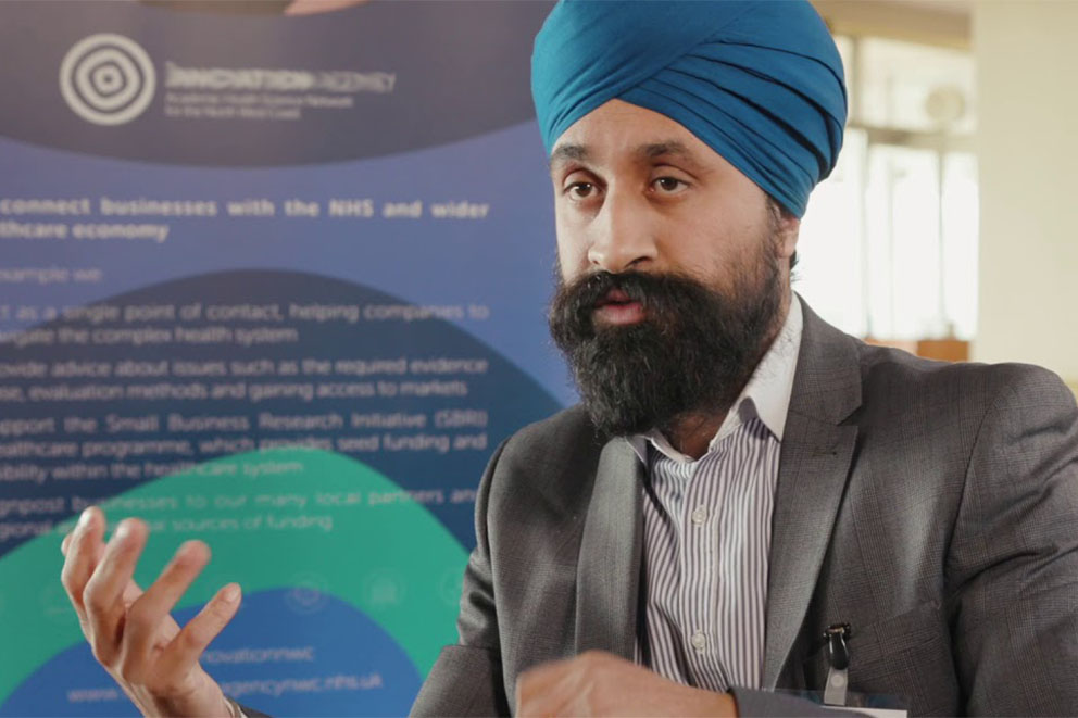 Indi Singh, national lead on the LHCRs and Head of Architecture and Cyber Security at NHSX